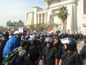 SCC Islamist Protest