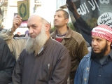 Photos from the Salafi-Jihadi Protest at the French Embassy