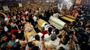 Attack on Coptic Funeral