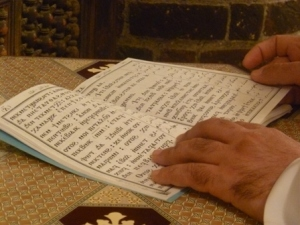 The chants were in the ancient language of Coptic, still used somewhat in the masses of Egypt but known only by a small group of specialized practitioners, such as in this monastery.