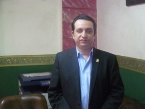 Emad Awny, a businessman in Asyut