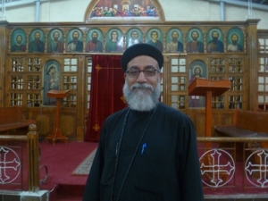 Fr. Kyrillos, an Orthodox priest in Saragna