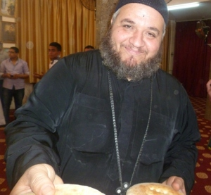 Fr. Seraphim, an Orthodox priest in Dayrut