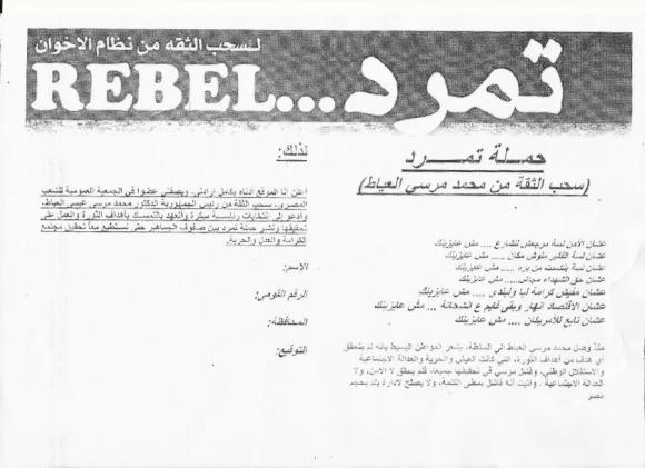 Rebellion Flyer