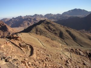 The Ascent to Mt. Sinai