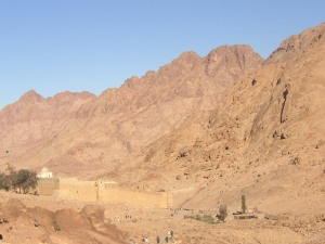St. Catherine's Monastery at Mt. Sinai