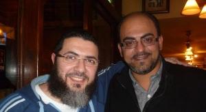 Mohamed Tolba, Salafi Muslim (L) and Bassem Victor, Coptic Christian (R)