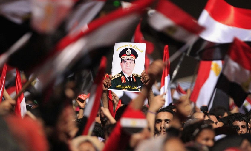 Sisi Demonstration
