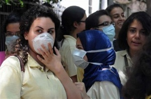 Egypt Swine Flu School