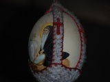 Ostrich Eggs and Coptic Easter