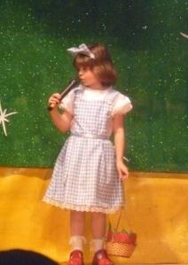 Hannah as Dorothy