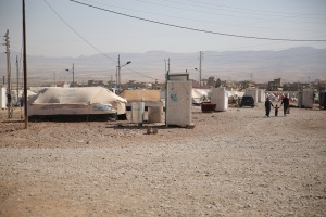 SAT7 refugee camp