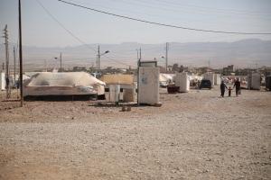 SAT7 refugee camp
