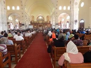 Attendance at the memorial mass