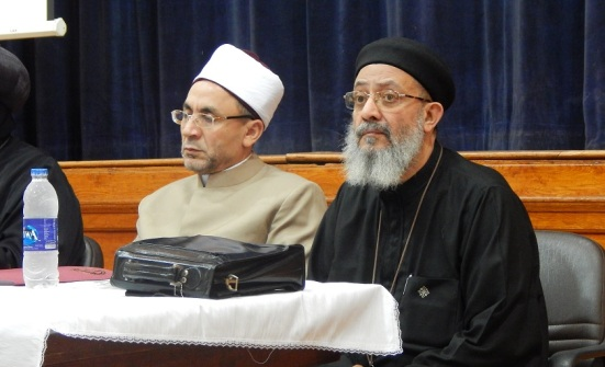 Heads of the religious discourse committee of the Family House