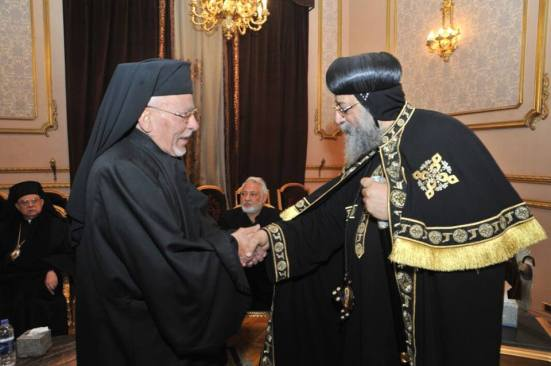 Many other churches also paid condolences, including Coptic Catholic Bishop Yohenna Qulta.