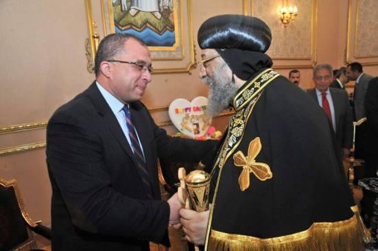 Planning Minister Ashraf al-Arabi