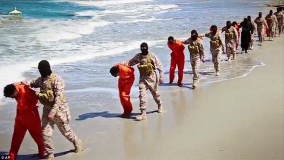Ethiopian Christians Libya