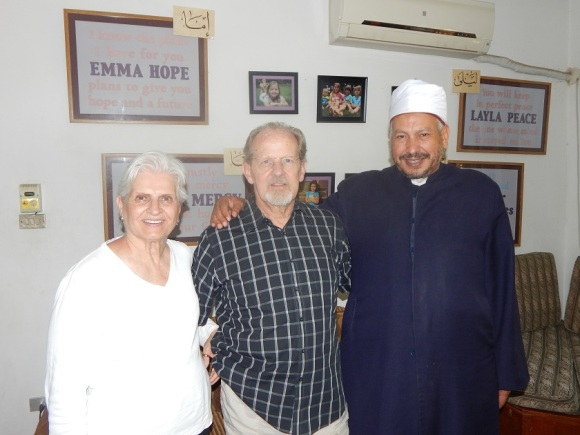 Sheikh Saeed and Parents