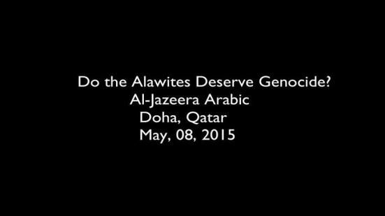Alawite Genocide al-Jazeera