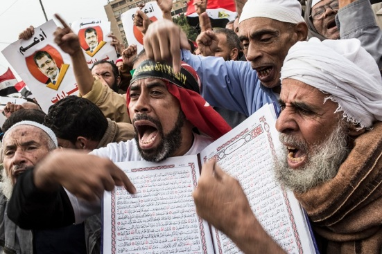 One mistake, some say now, was in allying with Egyptians like these. Photo: Getty Images