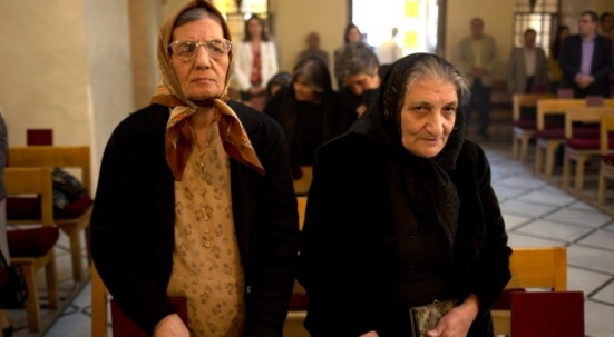 Elderly Syrian Christians
