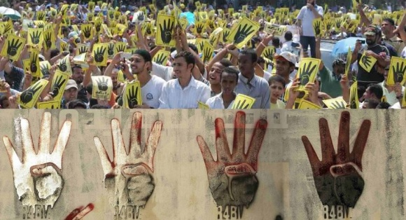 Rabaa Red and Yellow