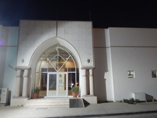 The Evangelical Church of al-Ain, hosted on hospital grounds.