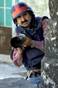 Hashlamoun: 'I choose nonviolence'. Photo: Watan Centre