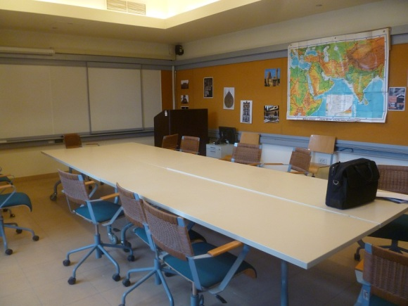 A typical and well equipped classroom