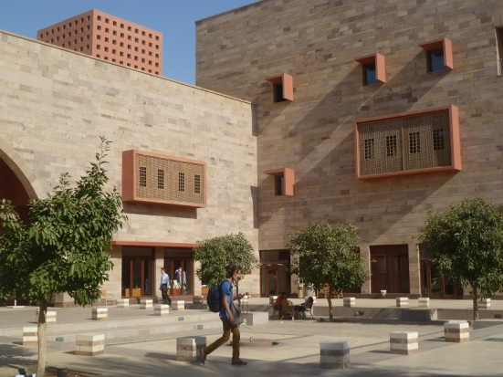 There is also a sizable foreign population at AUC