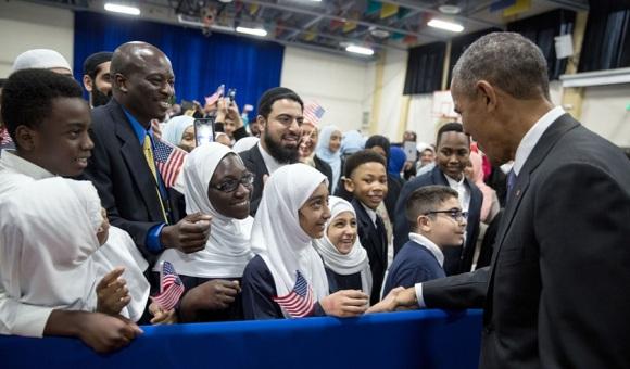 Obama Mosque Visit