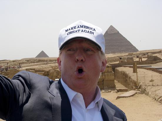 Trump Egypt