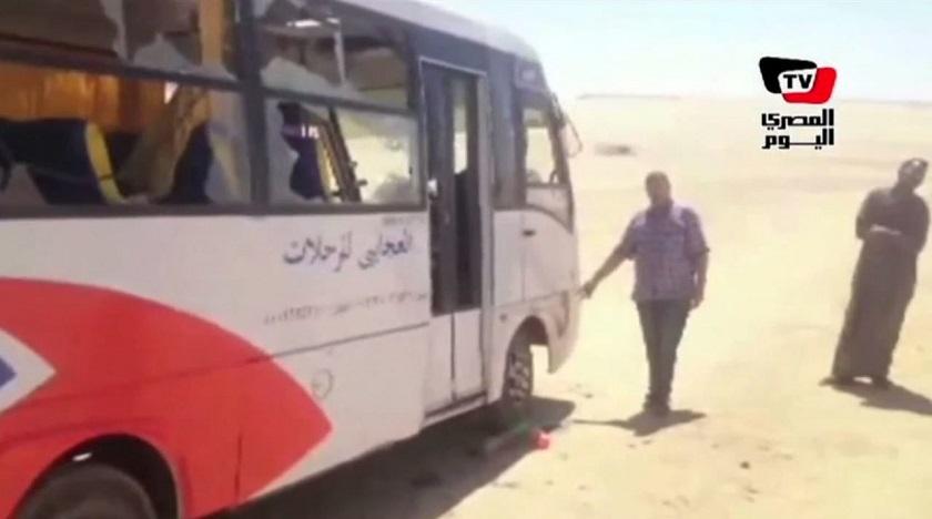 Ambush Coptic Bus Minya