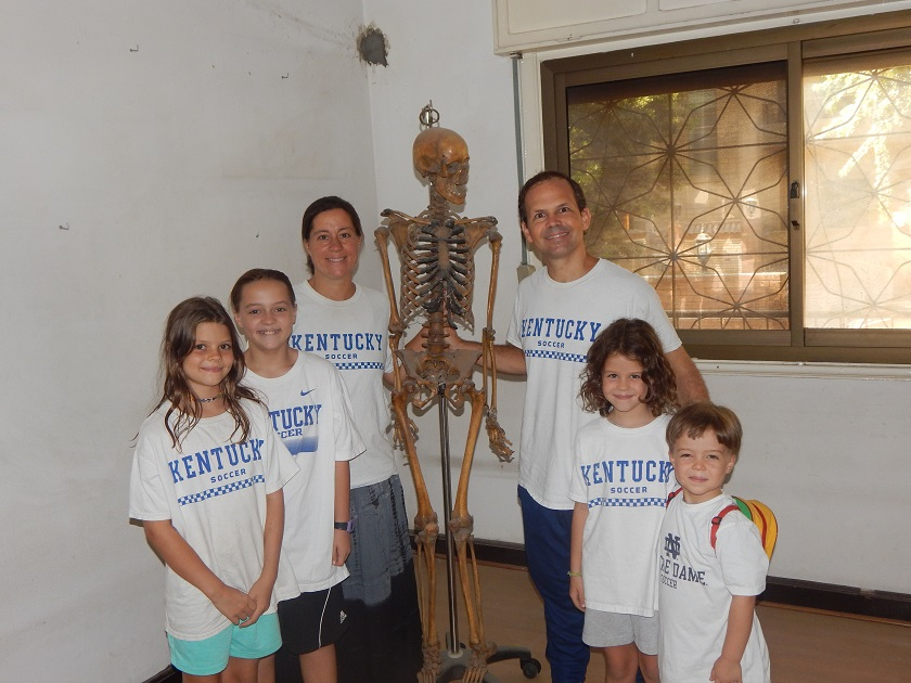 Max the Skeleton and Family