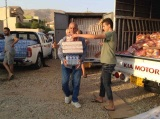 Distributing Aid to Iraqi Christians