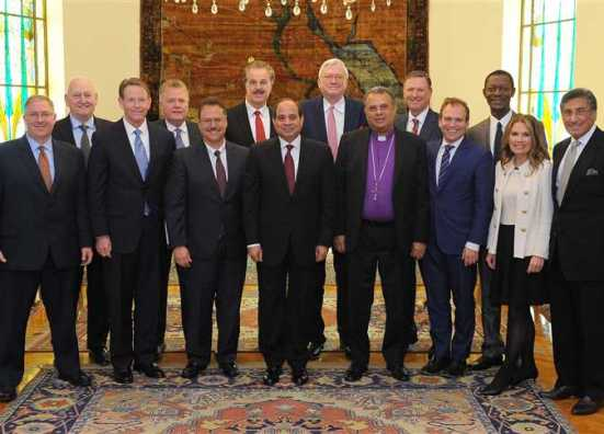 Egypt Evangelical Delegation