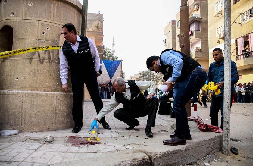 Helwan Church Attack