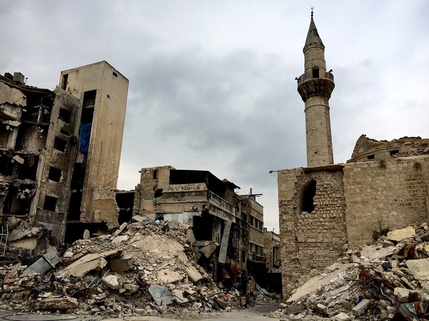 Syrian city of Aleppo
