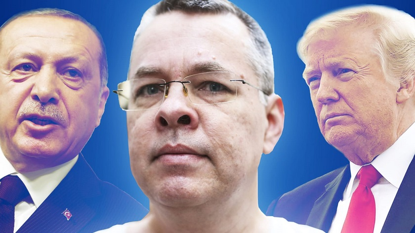 Trump Erdogan Brunson