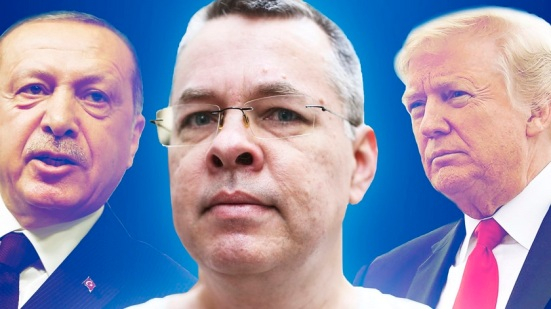 Trump Erdogan Brunson