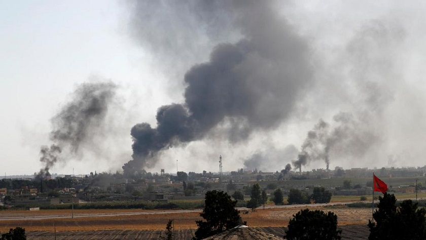 Turkey Shelling Syria