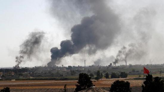 Turkey Shelling Syria