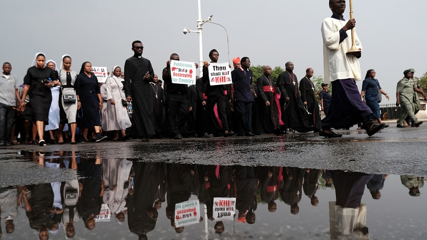 Nigeria Catholic March